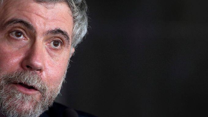 """Der Ökonom Paul Krugman spricht vom """"Tod des europäischen Projektes""""."""