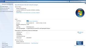 Die Spezifikationen des rund acht Jahre alten Acer Aspire 5610 sind für Windows 10 ausreichend.