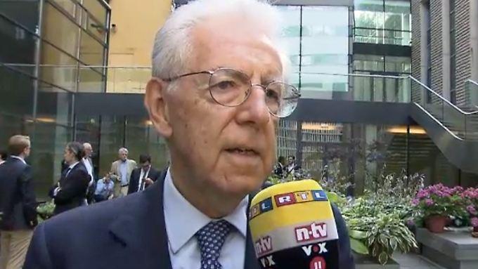 """Mario Monti im n-tv Interview: """"Kein Staat sollte versuchen, von den Griechen zu lernen"""""""