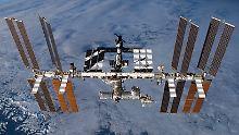 Aufregung im All: ISS-Crew muss Station verlassen
