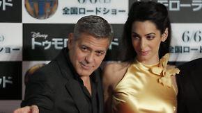 Promi-News des Tages: George Clooney plant eine Promi-WG