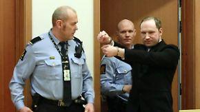 Ohne Internet, ohne Dozenten: Attentäter Breivik darf Staatsrecht studieren