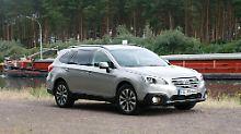Der Subaru Outback kommt ohne Outdoor-Optik aus, der Allradantrieb ist obligatorisch.