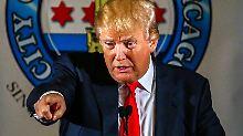 Neuer Favorit setzt sich ab: Trump ist beliebter als Bush