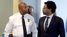 Ein Jahr nach den Rassenunruhen: Ferguson bekommt schwarzen Polizeichef