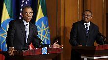 "Krisenherde in Afrika: Obama rügt ""Dickköpfe"" im Südsudan"