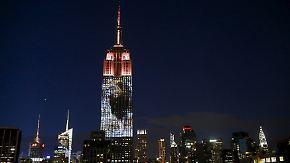Aktion für Verbot von Großwildjagd: Löwe Cecil prangt am Empire State Building
