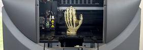 Revolutionärer Hände-Druck: Auch Gliedmaßen kommen aus 3D-Drucker