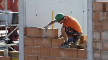 Statistik der Arbeitsagentur: Vor allem Maurer nutzen Rente ab 63