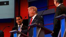 """TV-Schlagabtausch der Republikaner: Trump schimpft auf die """"dummen"""" Politiker"""