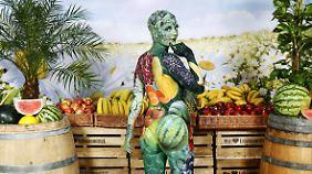 Frisches Obst und Gemüse ist an heißen Tagen die richtige Wahl.