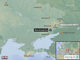 Auf halbem Weg zwischen Russland und der Krim: Mariupol liegt im Brennpunkt des Konflikts.