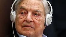 Es geht um 18 Milliarden Dollar: Soros schichtet Vermögen um