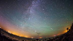 Viele Wünsche im Gepäck: Sternschnuppen locken Tausende in die laue Nacht