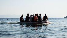 Im Laderaum des Fluchtbootes: Mindestens 40 Flüchtlinge ersticken