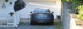 Mehr als 50.000 abgasfreie Pkw: Norwegen erlebt Elektroauto-Boom
