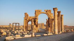 """Kultureller Kampf gegen den IS: Syrische """"Monuments Men"""" retten Kunst und Denkmäler"""