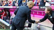 Tachchen: Josep Guardiola und Markus Gisdol verabreden sich zum Monopoly.