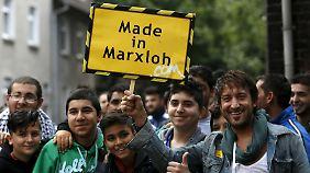 Bürgerdialog im Brennpunkt: Merkel besucht Duisburger Problemviertel Marxloh