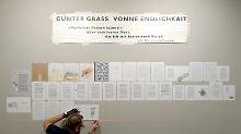 """""""Vonne Endlichkait"""": Grass-Verleger: """"Noch einmal etwas Großes"""""""