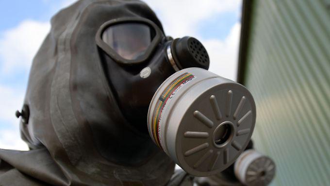 Laut CIA ist der IS in der Lage, Senf- und Chlorgas selbst herzustellen.