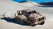 Im Gegensatz zum Humvee soll der Oshkosh JLTV sich wie ein Buggy durchs Gelände jagen lassen.