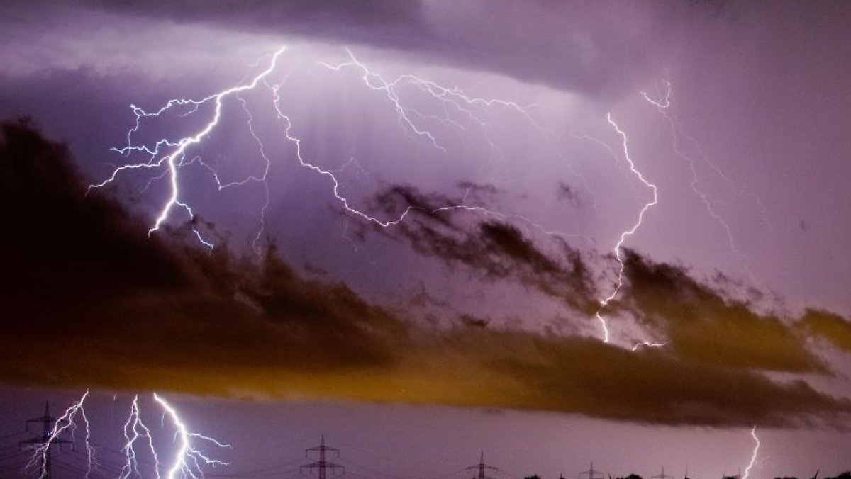 Blitzeinschlag Haus Wahrscheinlichkeit