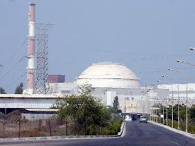 Die iranische Atomanlage Buscher soll besonders betroffen gewesen sein.