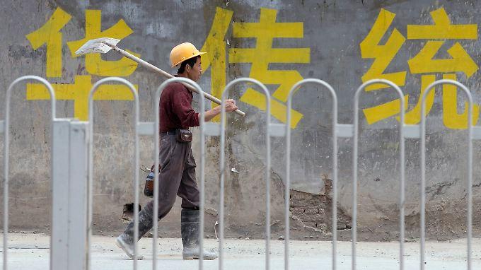 Chinas Wirtschafts boomt nicht mehr so wie erwartet.