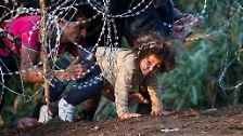 Der Zaun an der Grenze wird die Zahl der Menschen, die über Ungarn nach Norden reichen somit auf kurz oder lang reduzieren.