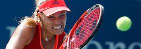 Angelique Kerber hat sich mit einem Münchner Fitness-Coach intensiv auf die US-Open vorbereitet.