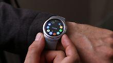 Samsung Gear S2 erinnert irgendwie an eine Uhr