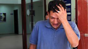 Beisetzung in Kobane: Vater von ertrunkenem Aylan kehrt zurück nach Syrien