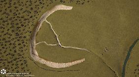 Bis zu 90 stehende Steine: Große prähistorische Anlage nahe Stonehenge entdeckt
