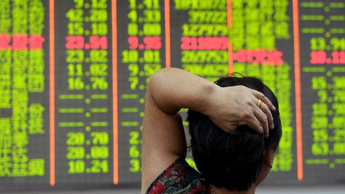 Seit Mitte Juni sind die chinesischen Märkte um mehr als 40 Prozent abgestürzt.