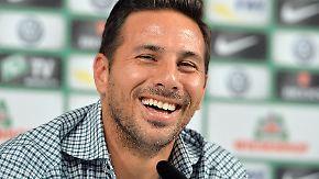 """""""Mein Herz hat gezittert"""": Pizarro geht zum dritten Mal zu Werder Bremen"""