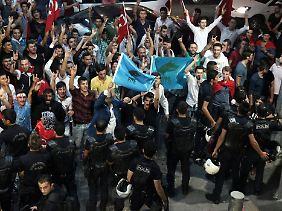 Aufgeheizte Stimmung in Ankara: Die türkischen Nationalisten machen mobil.
