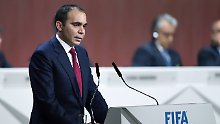 + Fußball, News, Transfergerüchte +: Prinz Ali kandidiert als Fifa-Präsident