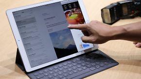 Größer denn je und mit Stift: Apples neues iPad spricht Grafik-Profis an