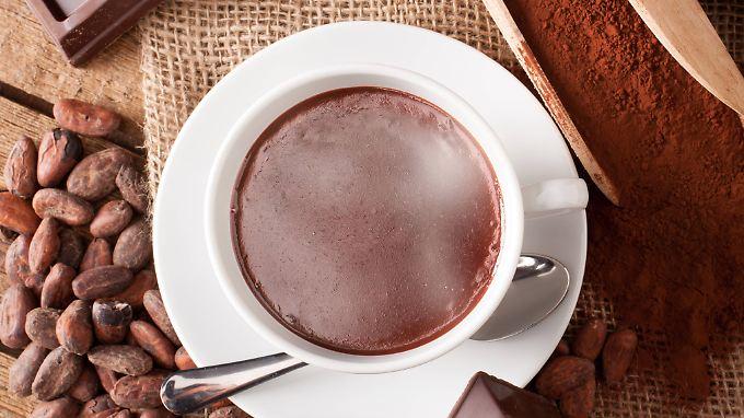 Flavanole sind in Tee, Kakao, Früchten und daraus hergestellten Getränken enthalten.