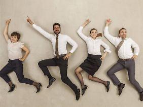 Trotz aller Motivation: Ein gutes Verhältnis zu Kollegen ist Beschäftigten am wichtigsten.