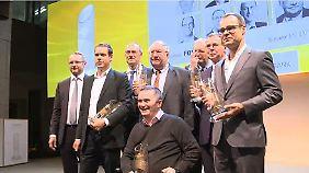Profiteure des Anlagenotstands: Beste Fondsmanager erhalten Sauren Golden Awards