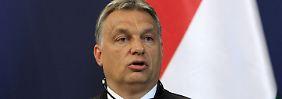 """Orban kritisiert Deutschland: """"Kein Grundrecht auf ein besseres Leben"""""""