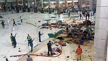 Unglück in Mekka: Kran stürzt in die Große Moschee