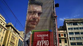 Neuwahlen in Griechenland: Tsipras' Wahlversprechen machen Geldgeber nervös