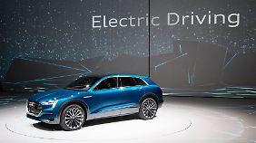 Bis zu 500 Kilometer Reichweite verspricht Audi für den e-tron.
