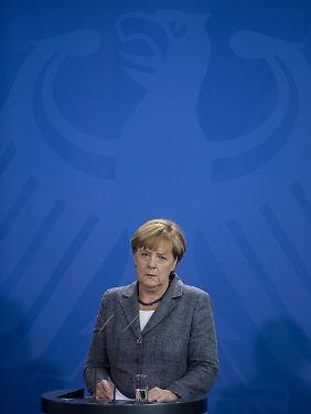 Kanzlerin Angela Merkel lobt ausdrücklich die Willkommensgesten vieler Deutscher.