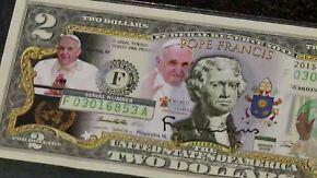 Kaum zu glauben, aber wahr: Papst beflügelt Einfallsreichtum der US-Händler