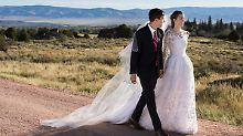 """Gemeinsam mit """"Girls""""-Kolleginnen: Allison Williams feiert Ranch-Hochzeit"""