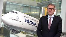 Kündigt an, worauf ungeduldige Passagiere seit Jahren warten: Carsten Spohr, hier im Lufthansa Trainings- und Konferenzzentrum in Seeheim, holt das Internet ins Flugzeug.